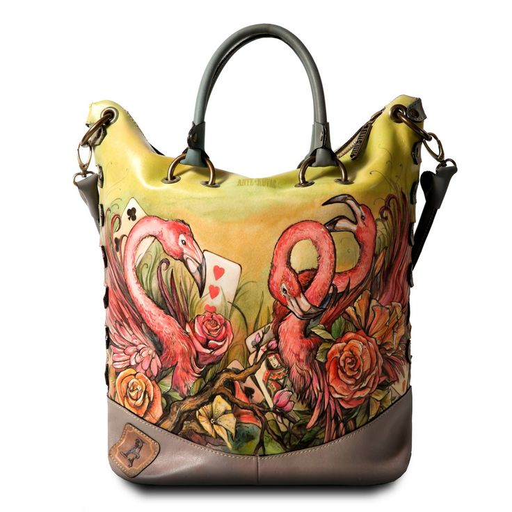 Bag by Ante Kovac. http://www.antekovac.ru/brand/collection/dlya-nee/skazki/  #antekovac #fashion #style #bag #handbag #handmade #leatherbag #aliceinwonderland #alice #fairy #art