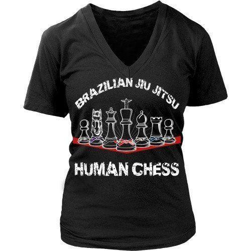 [product_style]-BJJ T Shirt - Brazilian Jiu Jitsu Human Chess-Teelime