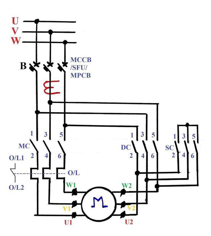 10+ Electric Motor Star Delta Wiring Diagram - Wiring ...