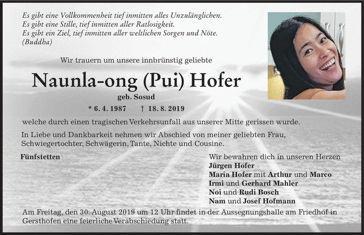 Trauer Augsburger Allgemeine