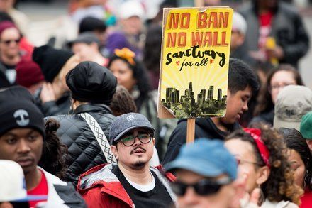 Trump Officials Ask Sanctuary Cities to Prove Compliance With Immigration Law by KATIE BENNER