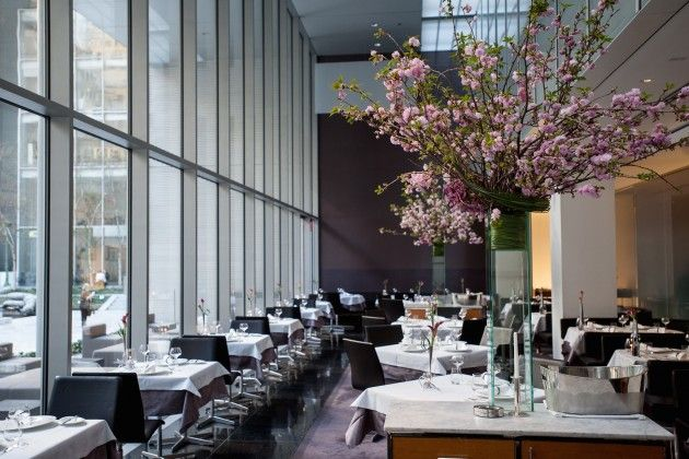 The Modern Danny Meyer, Chef Gabriel Kreuther 9 W. 53rd St. - overlooking MoMa Garden Midtown NYC