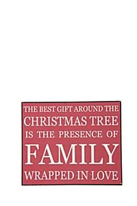 THE BEST GIFT CHRISTMAS SIGN