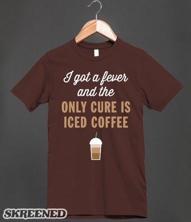 This is how I feel in the morning. #icedcoffee #fever #starbucks