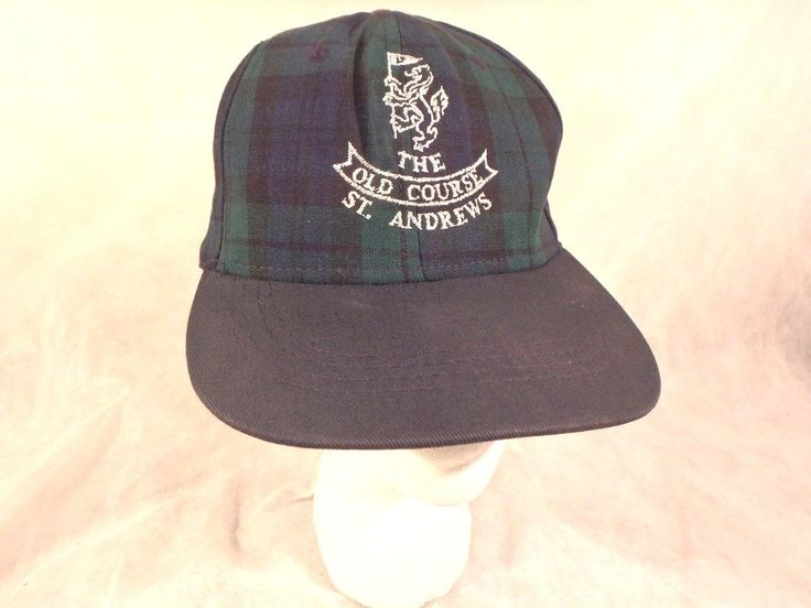 scotland baseball hat football cap it green blue tartan embroidered rampant lion this st the old course golf scottish rugby union