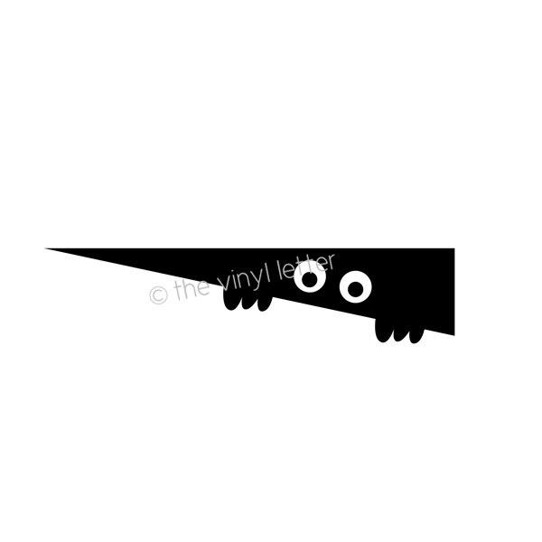 Halloween Toilet Monster Vinyl Decal by TheVinylLetter on Etsy, $7.49