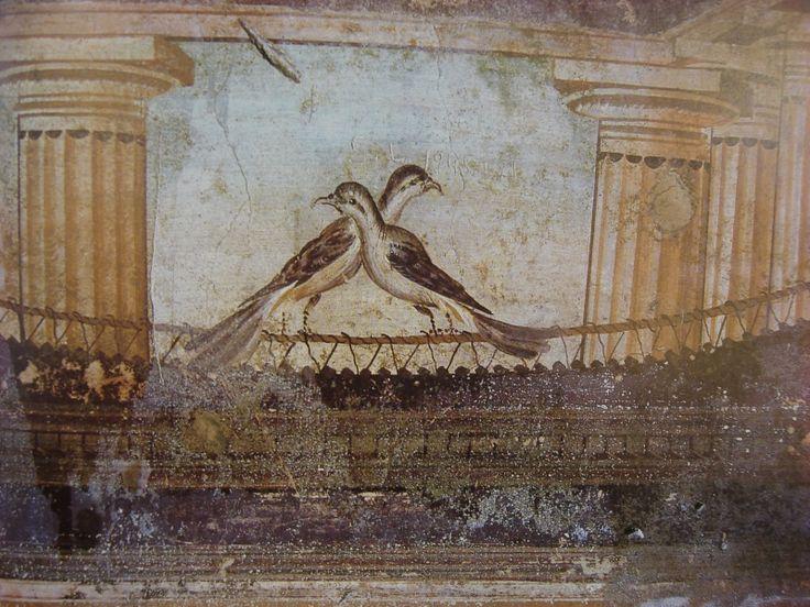 les 86 meilleures images du tableau fresques romaines sur pinterest peintures murales art. Black Bedroom Furniture Sets. Home Design Ideas