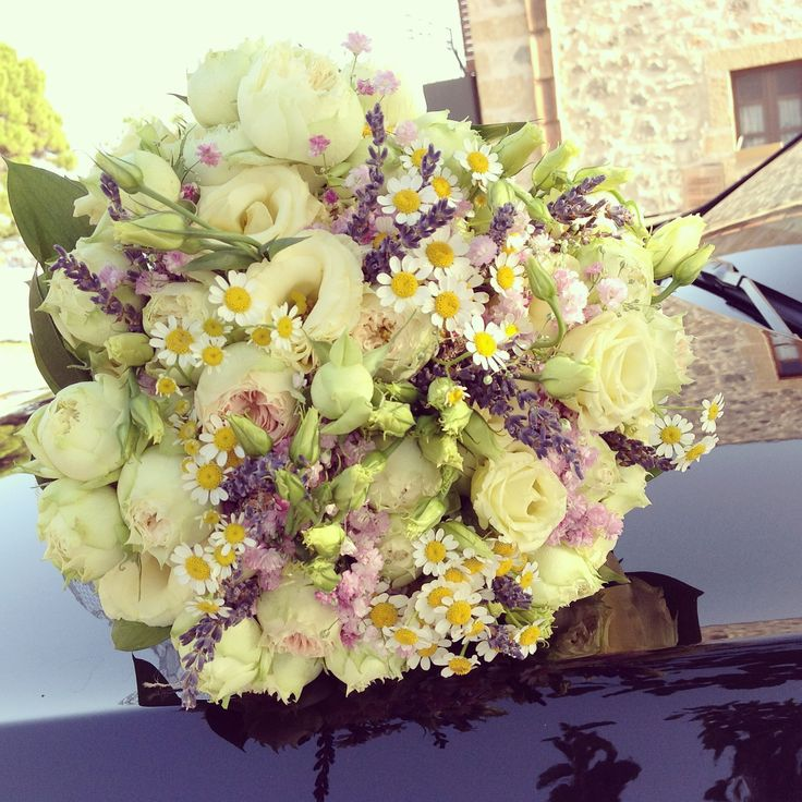 Bouquet as a centerpiece.