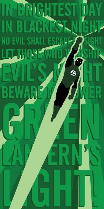 Super-herói / vilão Posters