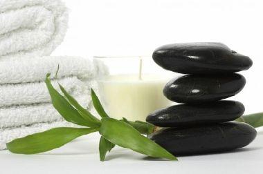 Hot stone massage...