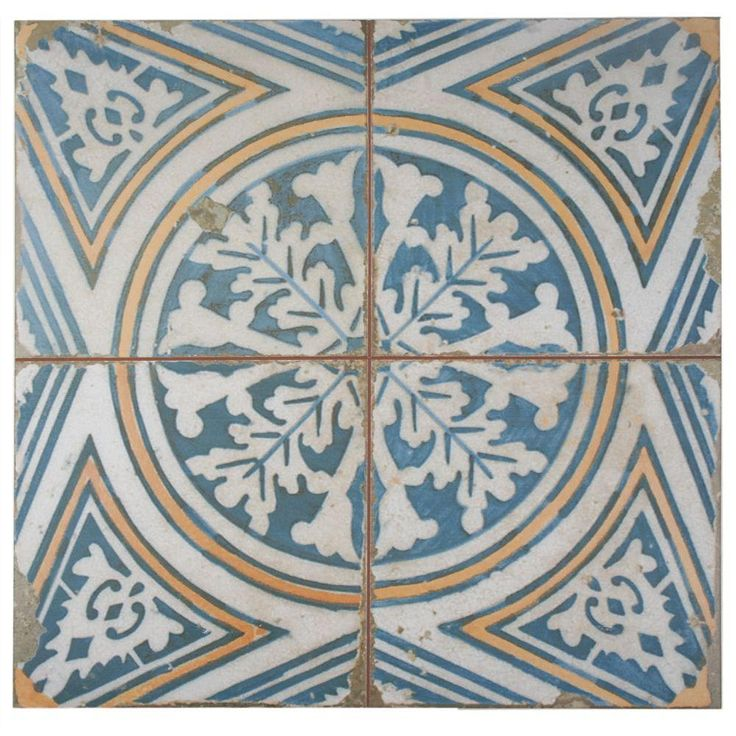 Merola Tile Kings Flatlands 17-3/4 in. x 17-3/4 in. Ceramic Floor and Wall Tile (11.3 sq. ft. / case)-FPEFTFS1 - The Home Depot