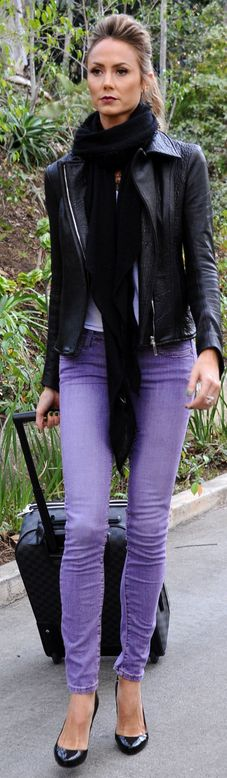 Love the purple pants