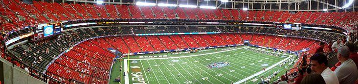 Georgia Dome - Atlanta Falcons/Georgia Tech