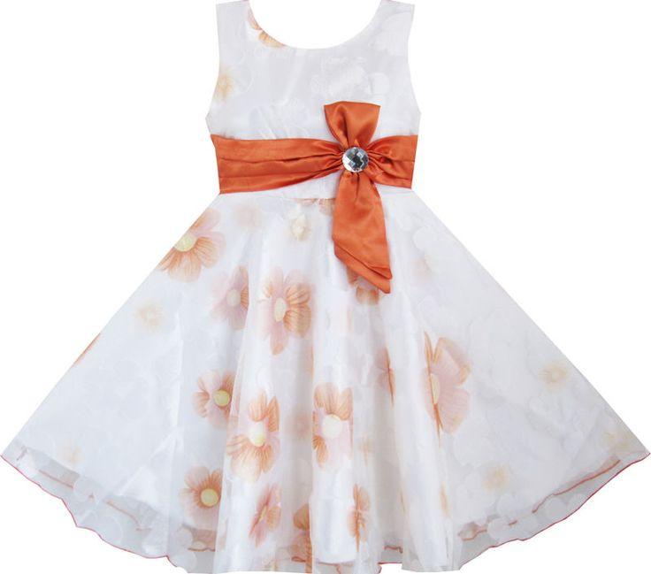 Mädchen Kleid 3 Schichten Champagner Diamant Gürtel Festzug Hochzeit Kids