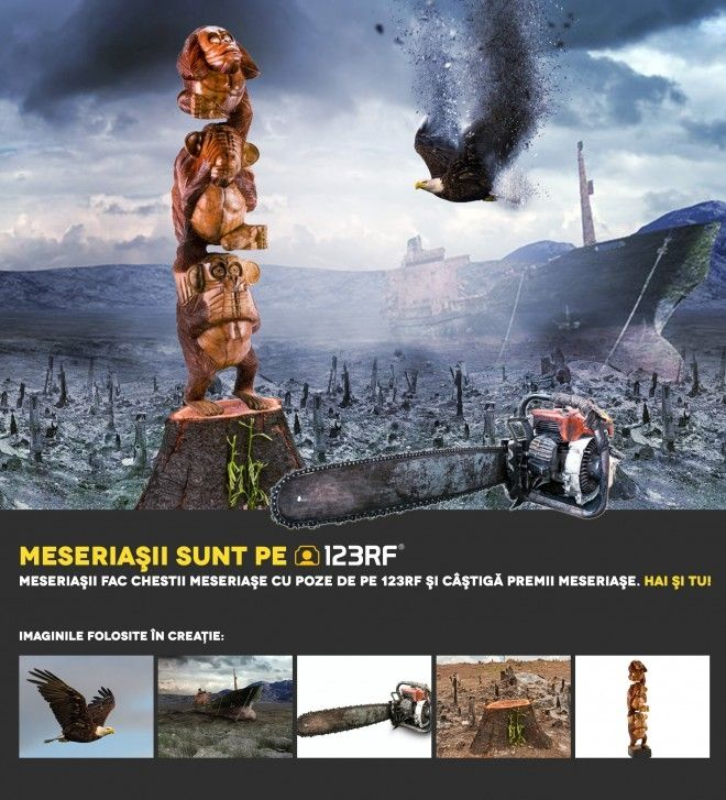 """Chaos"" by  Nicolae Daniel.  Meseriasii sunt pe 123RF!"