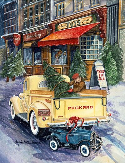 Wishing everyone a safe and very Merry Christmas!   What classic car would be at the top of your wish list to Santa? – Aysun Bayhan