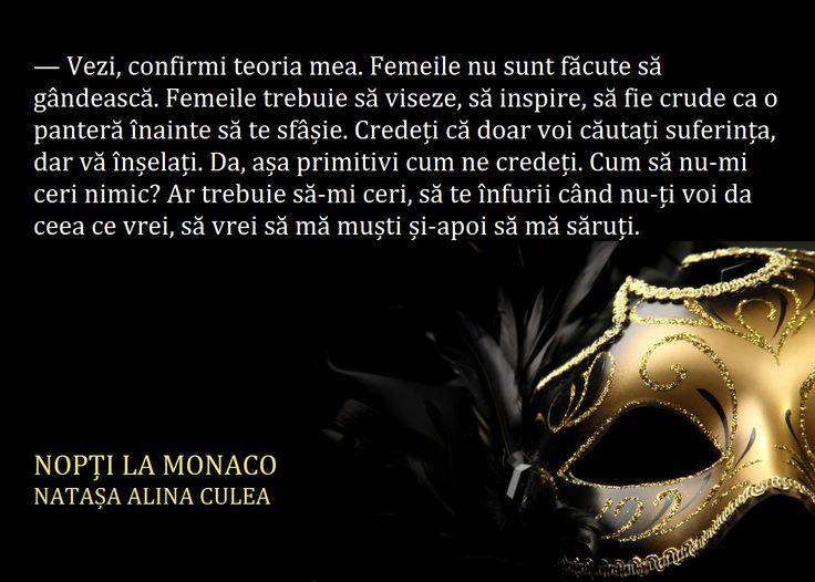 Nopți la Monaco (citat, fragment din carte)