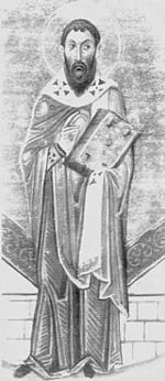 """Sophronius of Jerusalem (c. 560 – March 11, 638)  Σωφρόνιος in Greek, born in Damascus present-day Syria, considered  Muslim control of Palestine as """"unwitting representatives of God's inevitable chastisement of weak and wavering Christians"""" died soon after the fall of Jerusalem to the caliph Umar I in 637, but not before he had negotiated the recognition of civil and religious liberty for Christians in exchange for tribute - an agreement known as Umari Treaty."""