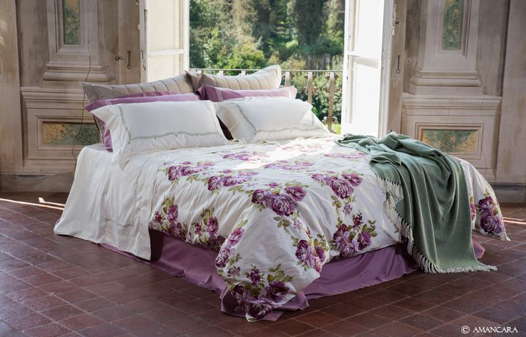The Peony #bedroom by Amancara was inspired by bright, blooming spring flowers and bold contrasting colors. Discover the full collection at www.amancara.com.