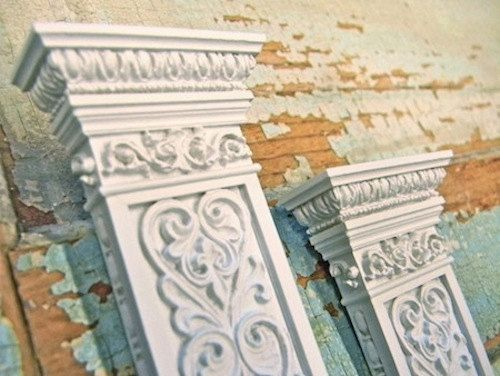 Decorative Column Facade (set of 2) $22