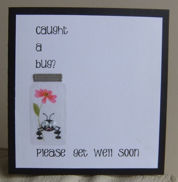 Card Making Ideas For Get Well Cards Part - 40: This, That And Everything Inbetween: 2 CAS Challenges - Get Well