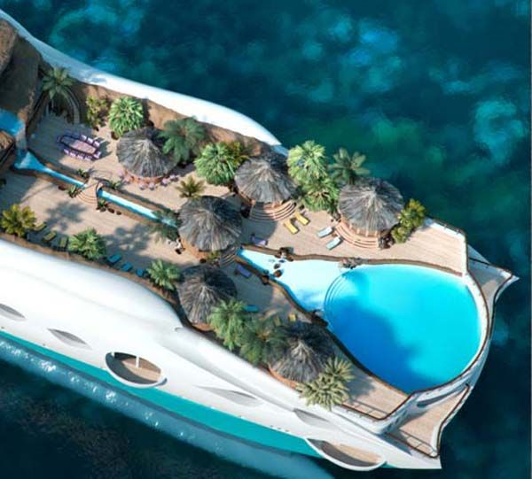 Marvelous Tropical Island Yacht for New Level of Luxury : Tropical Island Yacht 101