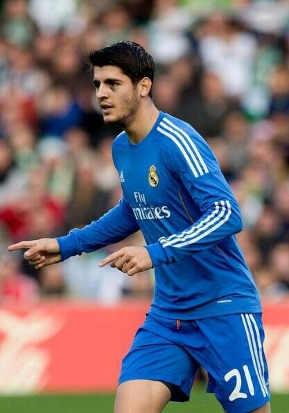 Morata Real madrid