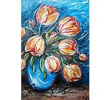 Tulip beat Photographic Print