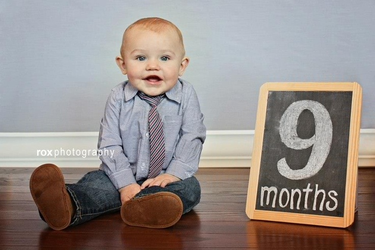 9 months pictures by Rox Photography. My   Dawson