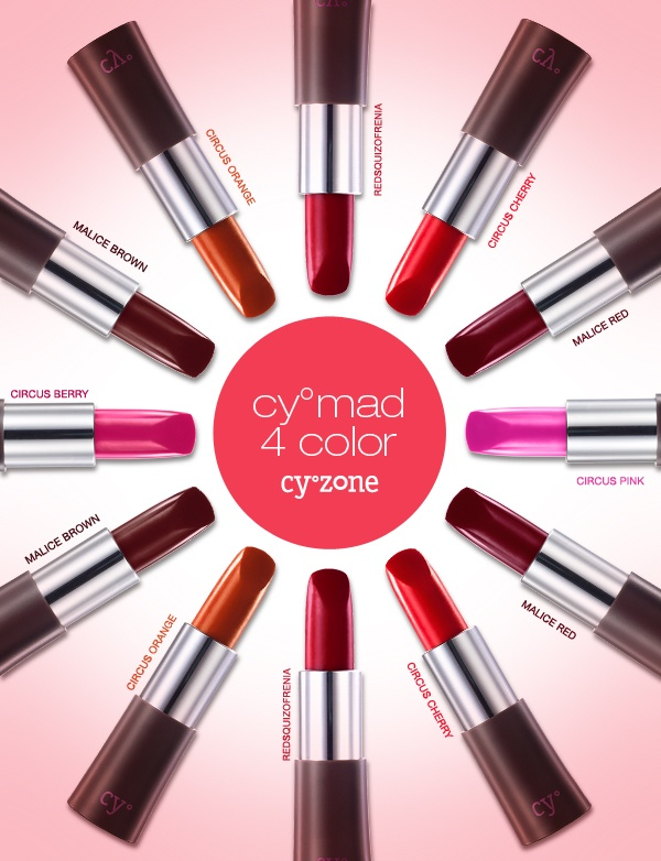 Descubre el poder de unos labios Full Color - Cy° Mad 4 Color de Cyzone