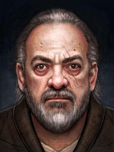 RPG Portrait 2 by adam-brown.deviantart.com on @DeviantArt. NPC bug eyed Joe