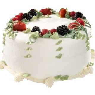 Triple berry cake from Sweet Lady Jane...I had this cake for every Birthday I spent in LA