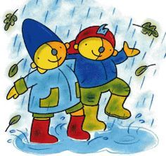 Pompom regen