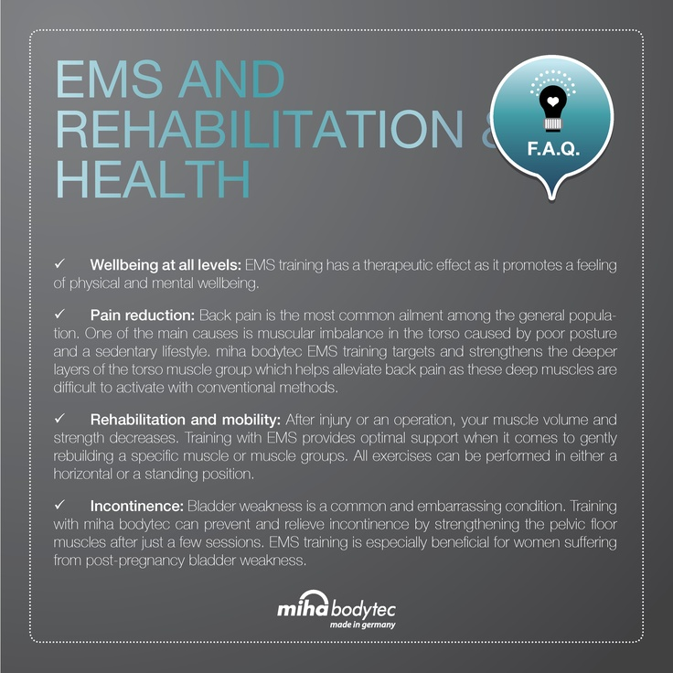 rehabilitation & health