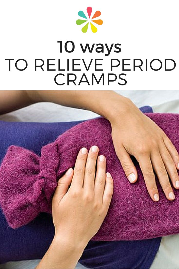 While menstrual cramps can be painful, you can take many routes to relief. #periodcramps #everydayhealth | everydayhealth.com
