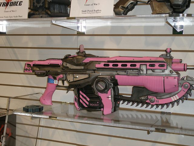 One of a Kind Pink Gun