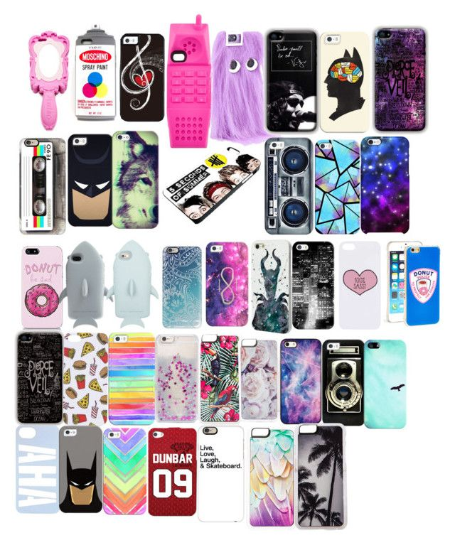 """""""Liked Phone Cases"""" by fairy-and-mermaid ❤ liked on Polyvore featuring Moschino, Skinnydip, Casetify, STELLA McCARTNEY, Uncommon, Disney, Topshop, Zero Gravity and BlissfulCASE"""