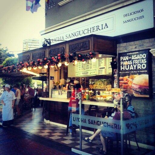 The Best place to eat in Lima.  Sangucheria La Lucha <3