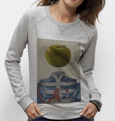Sweatshirt Sergent Apple - Madame TSHIRT x Terry Fan  -  Dispo ici : http://www.madametshirt.com/fr/sweat-shirts/1676-sweatshirt-sgt-apple.html