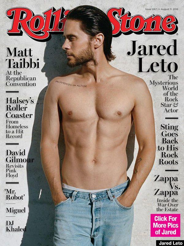 L'acteur, à l'affiche du film très attendu Suicide Squad qui sortira le 3 août prochain, s'exhibe torse nu en couverture du numéro d'août 2016 du magazine américain Rolling Stone.