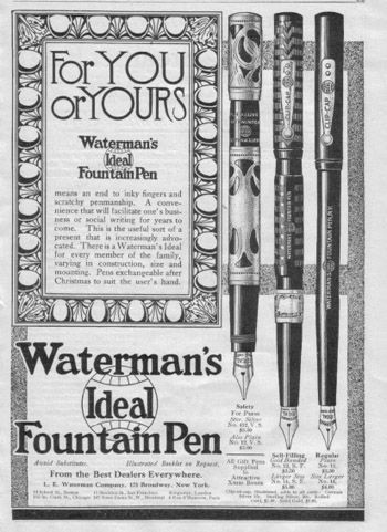 Vintage Waterman's Fountain Pen