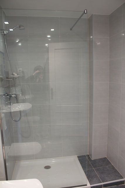 "Another option for ""curbless"" shower"