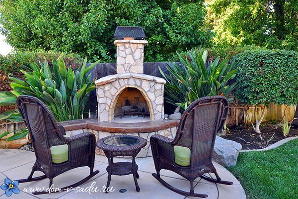Великолепный дачный кирпичный мангал | Красивый Дом и Сад