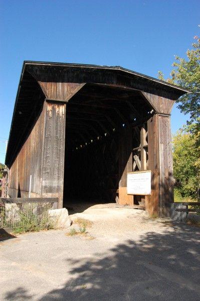 Крытые мосты Нью Хемпшира - мост Контукук