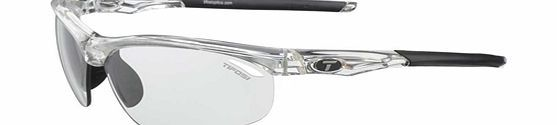 Tifosi Veloce Crystal Clear Glasses  Providing protection from dawn to dusk Light Night Fototec lenses provide the widest light transmission range from 75.9% - 27.7%. http://www.comparestoreprices.co.uk/sunglasses/tifosi-veloce-crystal-clear-glasses.asp