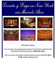 Toccata y Fuga en New York con Marcelo Arce