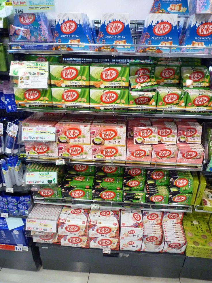 Japón es el país con más variedades de Kit Kat, como té verde, tarta de queso e incluso wasabi.