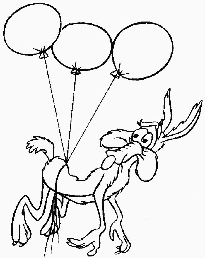 acme cartoon coloring pages - photo#5