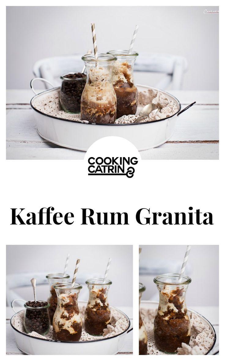 Kaffee, Rum, Cocktail, Drink, Getränk, Granita, Coffee, Iced