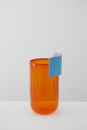 Realised at CIRVA, the 'Vases Coques' and 'Vases Oreilles' – a colored ensemble of evolving forms – play with new typologies by connecting f...